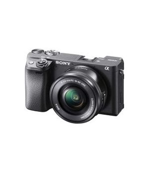 SONY ALPHA ILCE 6400+16-50 BK 24,2 MP  E-MOUNT (SELETTIVO)