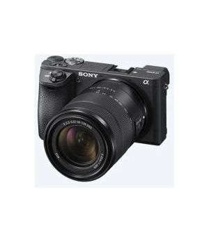 SONY ALPHA ILCE 6600 MB + 18-135 BK 24,2 MP  E-MOUNT (SELETTIVO)