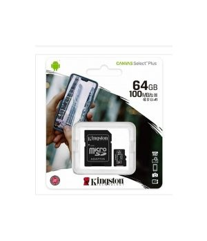 KINGSTON ALTRI MICRO + ADATT SDCS/64 GB CL10  80/10  UHSI