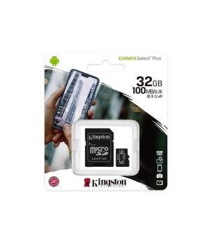 KINGSTON ALTRI MICRO + ADATT SDCS2/32 GB  CL10  100/10 UHSI