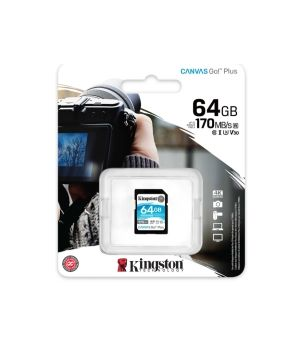 KINGSTON SDG3/64 GB  CL10  170MB  U3  4K