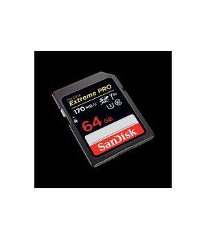 SANDISK SDXC EXTREME PRO UHSI  64 GB 170/90 1133X 4K V30