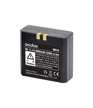 GODOX BATTERIA PER FLASH V850-860 VB18