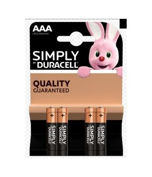 DURACELL MN 2400 SIMPLY AAA X4