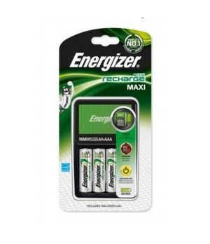 ENERGIZER MAXI CHARGER CARICA BATTERIE + 4 AA 2000 MAH