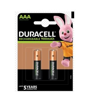 DURACELL PRECHARGED MN 2400 AAA HR03 900 MAH  X2