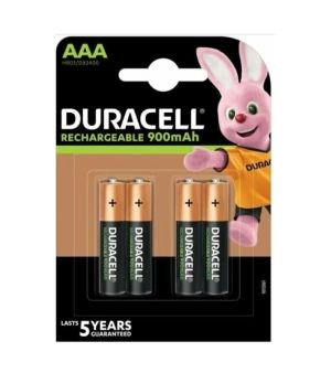 DURACELL PRECHARGED MN 2400 AAA HR03 900 MAH  X4