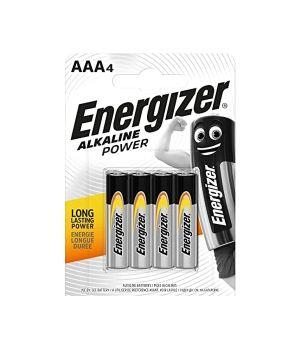 ENERGIZER ALKALINE POWER AAA LR3 X4