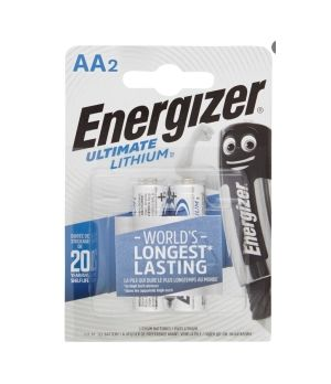 ENERGIZER LITIO  AA L91 STILO X2