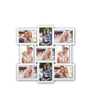 ZEP CORNICE MULTI 9 FOTO SANTANDER WHITE 9X 13X18 (52X52) XB14W