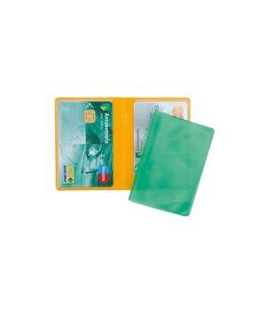 SVAR BUSTA CREDIT CARD DOPPIA A LIBRO TRANSCOLOR 8,5X5,5/25 20051160