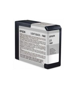 EPSON T5807 80 ML LIGHT BLACK